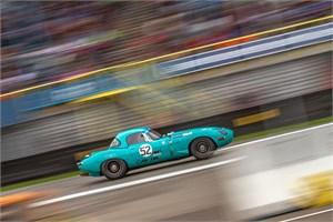 Snelle Jaguar E-Type