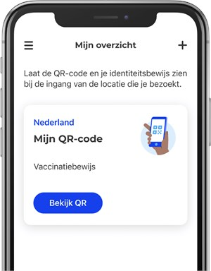 Alleen toegang met CoronaCheck-app