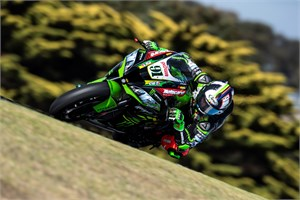 Kawasaki Racing Team en Leon Haslam