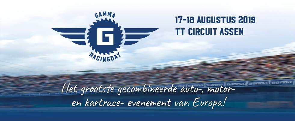 Gratis naar de GAMMA Racing Day in Assen